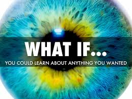 what if you could learn anything